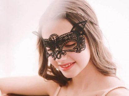Lace Masquerade Mask #8