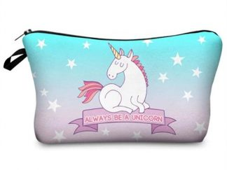 Always Be A Unicorn Make Up Bag