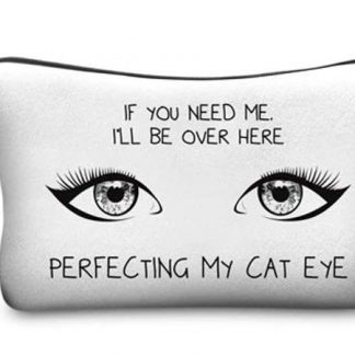 Perfecting My Cat Eye Make Up Bag