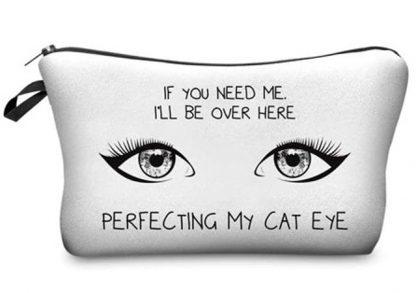 Perfecting My Cat Eye Make Up Bag