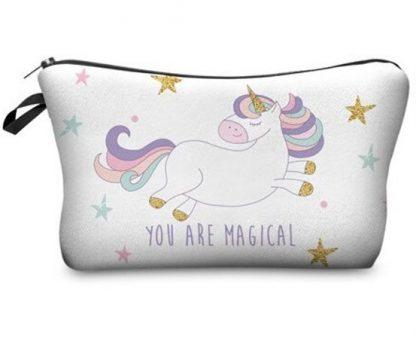 You Are Magical Unicorn Make Up Bag