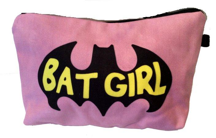 Batgirl Make Up Bag