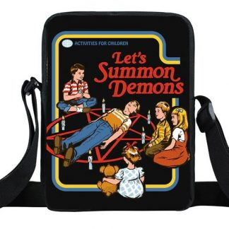 Activities for Children Mini Messenger Bag #1