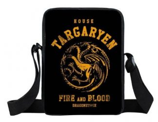Game of Thrones House Targaryen Mini Messenger Bag #2