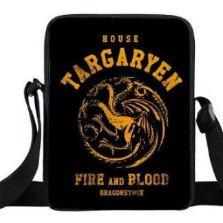 Game of Thrones House Targaryen Mini Messenger Bag #2