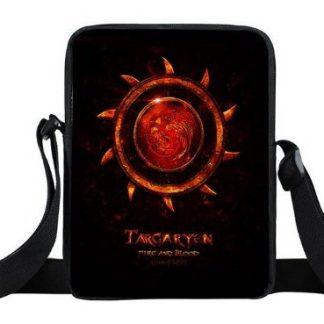 Game of Thrones House Targaryen Mini Messenger Bag #1