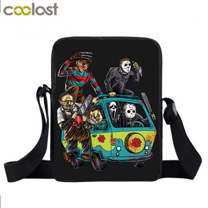 The Horror Scooby Gang Mini Messenger Bag