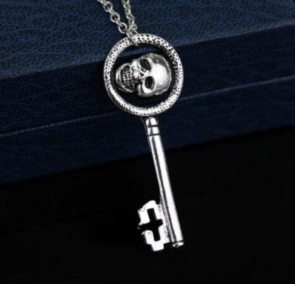 Once Upon A Time Evil Queen's Skeleton Key Necklace