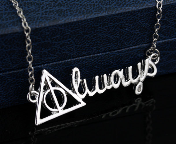 Harry Potter Deathly Hallows Always Necklace