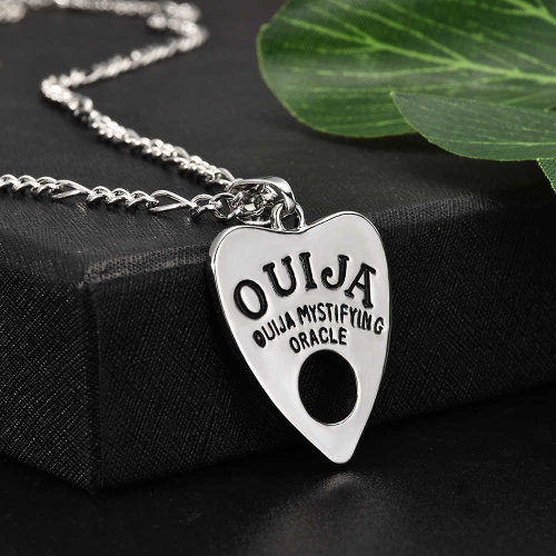 Ouija Planchette Necklace #1