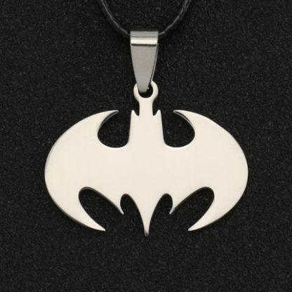 Batman Logo Charm Necklace