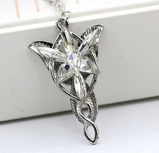 Lord of the Rings Arwen's Evenstar Necklace