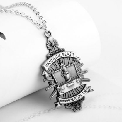 Fantastic Beasts And Where To Find Them Newt's Suitcase Necklace