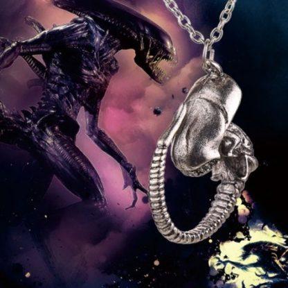 Alien Xenomorph Necklace