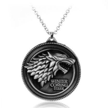Game of Thrones Stark Crest Necklace