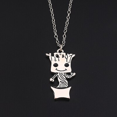 Guardians of the Galaxy Baby Groot Necklace