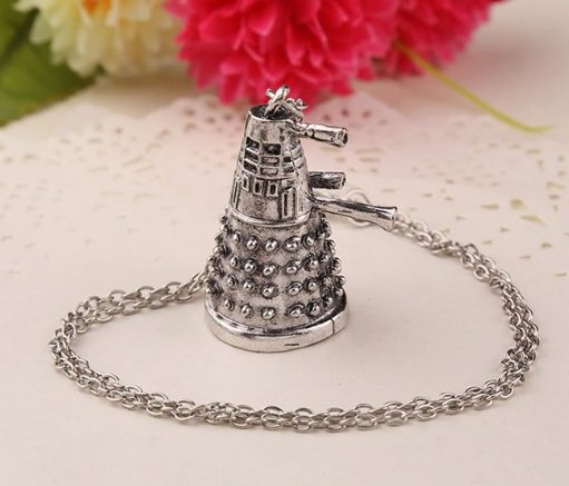 Doctor Who Dalek Necklace