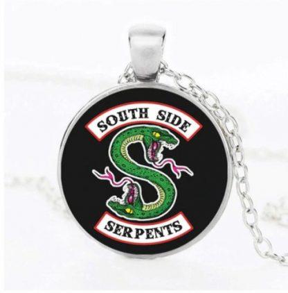 Riverdale South Side Serpents Cabochon Necklace