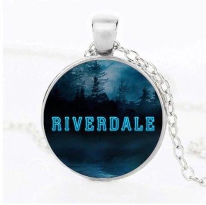 Riverdale Treeline Cabochon Necklace