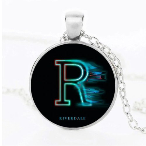 "Riverdale ""R"" Cabochon Necklace"