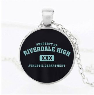Riverdale High Athletic Dept Cabochon Necklace