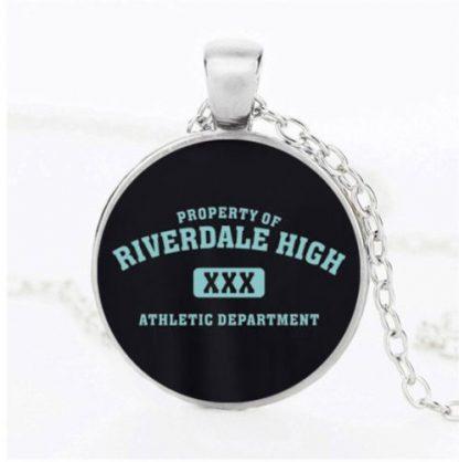Riverdale High Athletic Dept Cabochon Necklace