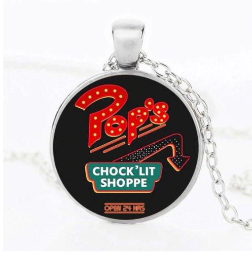 Riverdale Pops Chock 'Lit Shoppe Cabochon Necklace