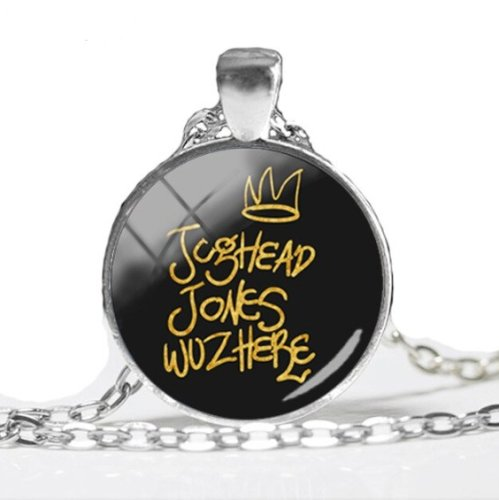 Riverdale Jughead Jones Wuz Here Cabochon Necklace