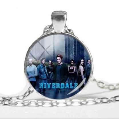 Riverdale Group Photo Cabochon Necklace