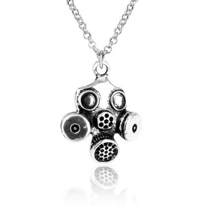 Doctor Who Gas Mask Necklace