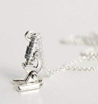 Microscope Charm Necklace
