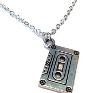 Awesome Mix Casette Tape Necklace