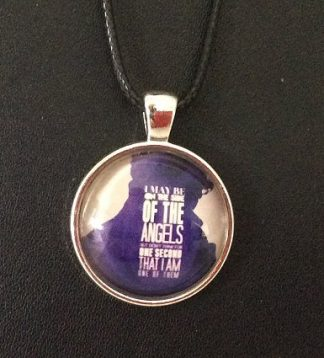 Sherlock I May Be On The Side of the Angels Cabochon Necklace