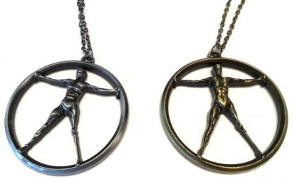 Westworld Necklace - Pewter or Brass