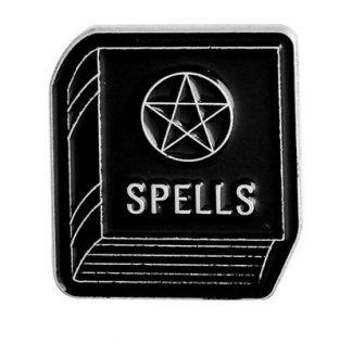 Spellbook Enamel Pin