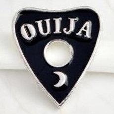 Ouija Board Planchette Enamel Pin #2