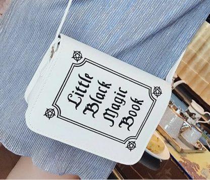 Little Black Magic Book Purse