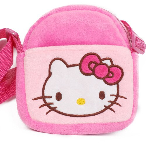Hello Kitty Plush Mini Purse