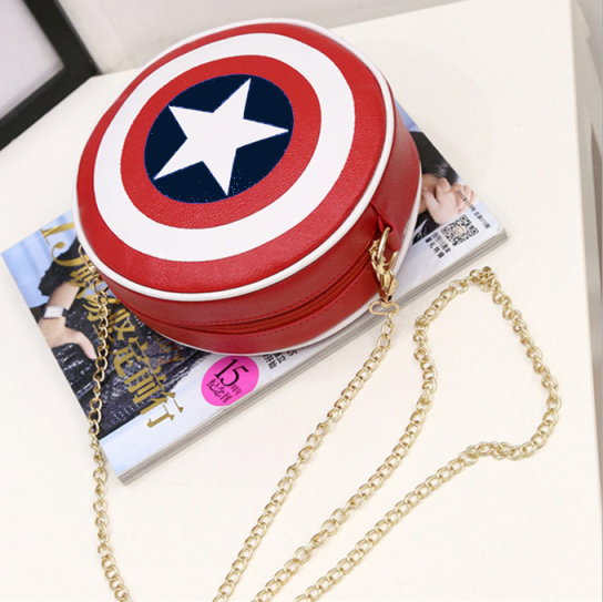 Captain America Shield Mini Purse
