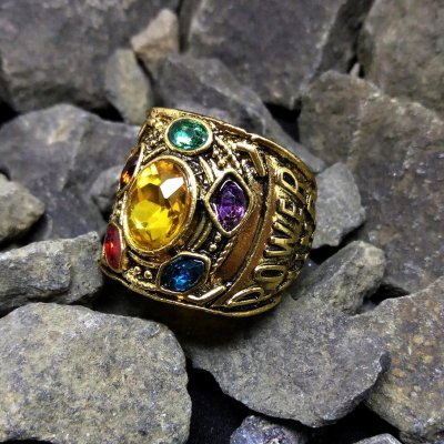 The Avengers Infinity Stone Ring
