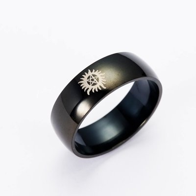 Supernatural Logo Band Style Ring
