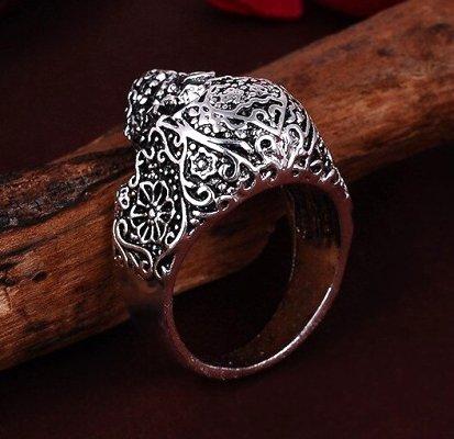 Vintage Style Skull Ring #1