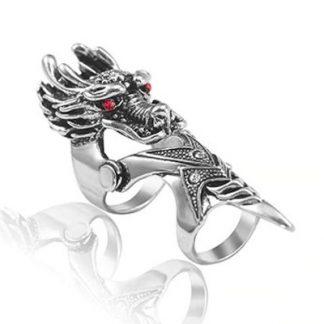 Finger Armor Dragon Ring