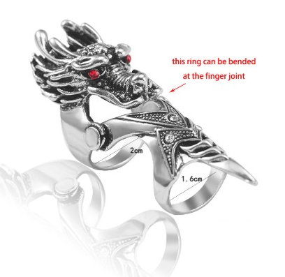 Finger Armor Dragon Ring