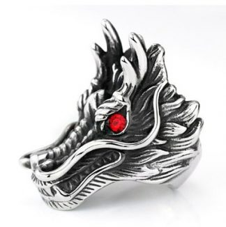 Red-Eyed Dragon Ring