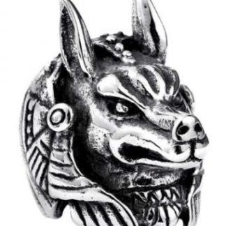 Gothic Style Anubus Ring