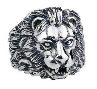 Regal Lion Ring