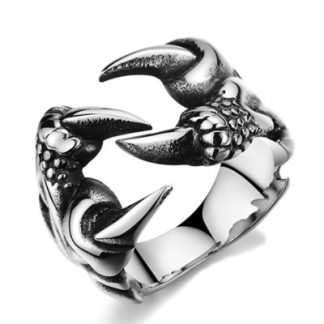 Gothic Style Claw Ring #2