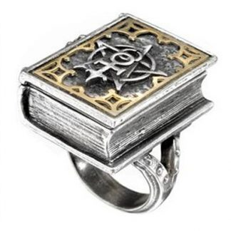 Magic Book Poison Ring