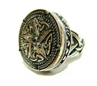 Pentagram Poison Ring